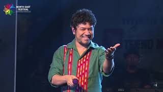 """Moh Moh Ke Dhaage""   Papon   Live   North East Festival, 2018, New Delhi"