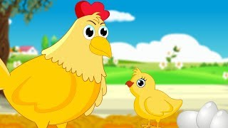 चूज़े की कहानी | A Wise Litttle Hen | Hindi Moral Stories For Kids| Hindi Kahaniya For Children