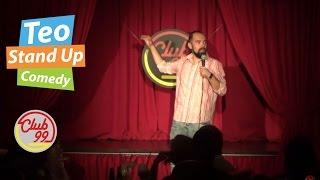 Teo - Despre cutremur | Club 99 | Stand-up Comedy