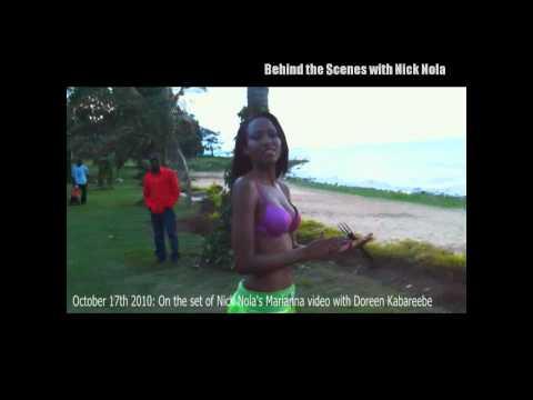Behind the Scenes with Nick Nola: Marianna Shoot Part 1 - Miss Uganda contestant Doreen Kabareebe