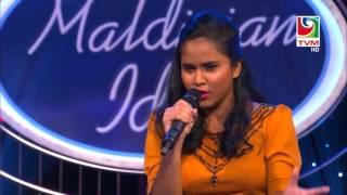 MALDIVIAN IDOL Piano Round - Roanveehey -Laisha Junaid