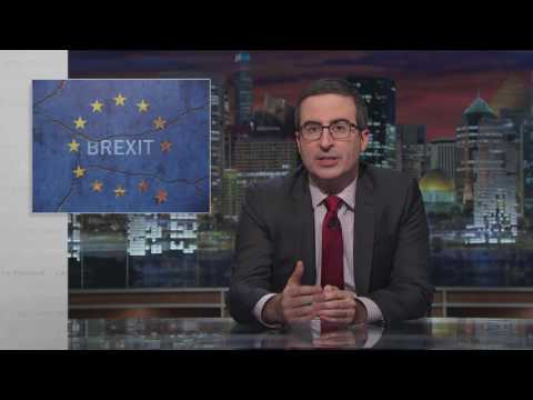 Last Week Tonight With John Oliver Brexit Update HBO