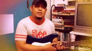 Ako'y binago Niya lead guitar cover