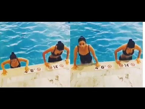 Katrina Kaif And Alia Bhatt's Pool Workout Will Make You Sweat And Swoon At The Same Time