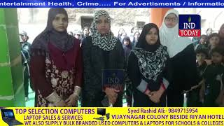 Self Defence Training For Girl Students by Syeda Falak