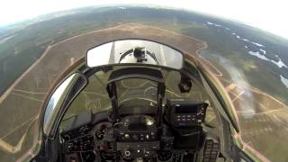 HD Cockpit View Flight MiG-29, Poland Air Force