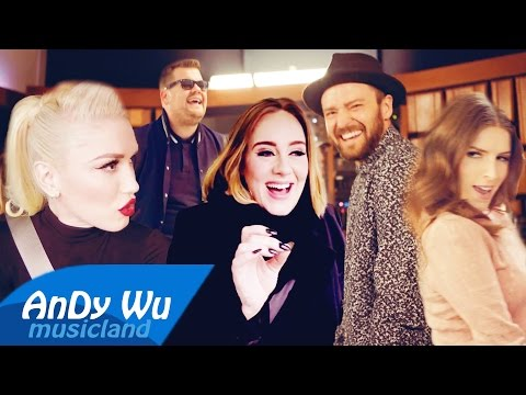 CAN'T STOP THE FEELING! (Megamix) - Justin Timberlake, AK, Gwen, Spice Girls, Adele & more