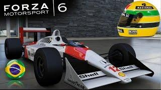 Racing Ayrton Senna's Mclaren MP4/4 at Spa: Forza Motorsport 6