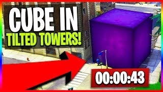 🔴 Cube is Destroying Tilted Towers! // NEW Fortnite Cube LIVE Event Countdown (Fortnite Gameplay)