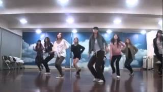 SNSD/Girls' Generation - Mr. Taxi mirrored Dance Practice