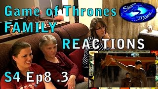 Game of Thrones FAMILY REACT S4 Ep8 .3