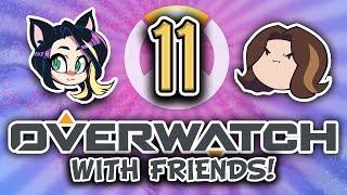 ► Overwatch w/ Egoraptor, Fey, Barry, Quandtum, & BlackDragon ► 3v3 ► PART 11 - Kitty Kat Gaming