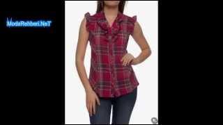 Lc waikiki bayan gömlek modelleri 2014 2015 modası