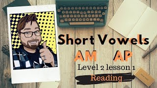 Adult Phonics Level 2 lesson 1 Short Vowel Am Ap Reading | Quick Phonics Lesson