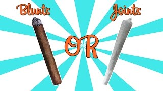 Are Blunts Stronger Than Joints?? - (Weed Myths #4)