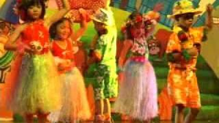 Nur cemerlang kindergarten hawaiian dance