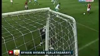 Ayhan Akman goal. Werder Bremen - Galatasaray