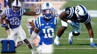 Top 3 Breakout Candidates | Duke Football 2018