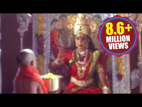 Devotional Scene Kanaka Durga - Ramya Krishnan