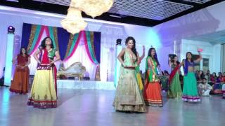 Puja and Sagar's Engagement Dance