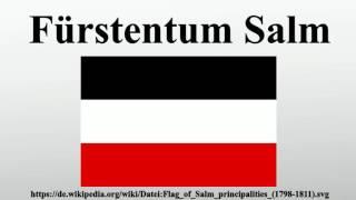 Fürstentum Salm