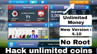 How to hack coins Dream League Soccer 2017 | New Version 4.10 | No Root