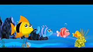 Les animaux   Comptines et chansons pour enfants   Les petits poissons dans l'eau  etc.