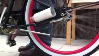 MAKE Soda Bottle Bike Exhaust