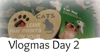 Vlogmas Day 2 - Christmas Presents for Cats...| Casual Beauty UK