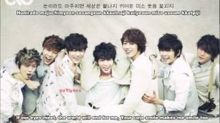 INFINITE - I Like You [English subs+Romanization+Hangul]