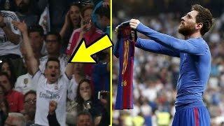 بسبب هدف ميسي ريال مدريد يعاقب 357 من مشجعيه !!