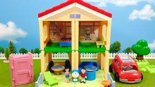 ドラえもん のび太のお家 ブロック /  Doraemon House Blocks Playset