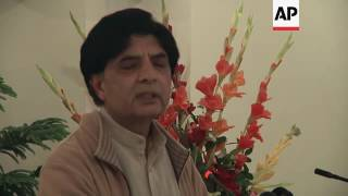 Minister: Pakistan offer to help US on shooter