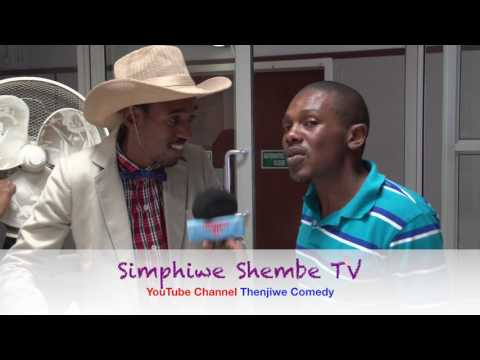 Simphiwe Shembe TV interview  on Judge Thenjiwe. South African comedy