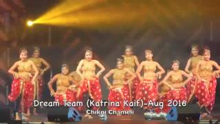 HD FRONT VIEW!! The Best of Katrina Kaif - Dream Team Concert - August 2016