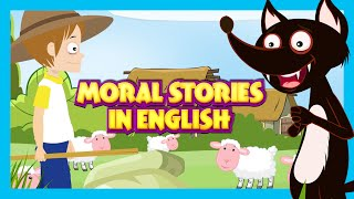 MORAL STORIES IN ENGLISH | The Sick Lion And Fox and More Stories For Kids
