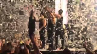 El mejor video de Matias Pettit y Maluma despidiendo el concierto en Medellin 2015