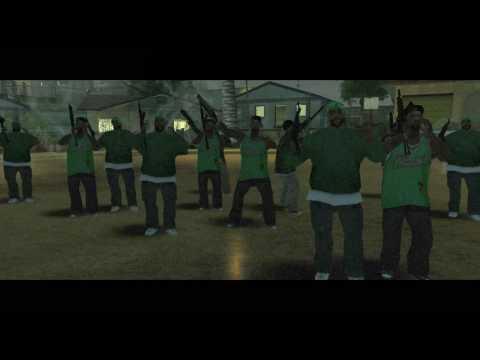 Gang Wars Groove Street 4 Life l Good bye Brotha .