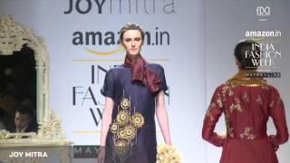 Joy Mitra Show  Amazon India Fashion Week AW '16