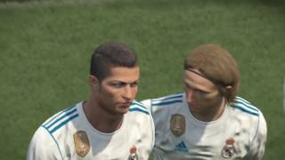 PS4 PES 2017 Gameplay Real Madrid vs FC Barcelona HD
