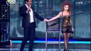 Myriam Fares, dancing Duo Celebrity