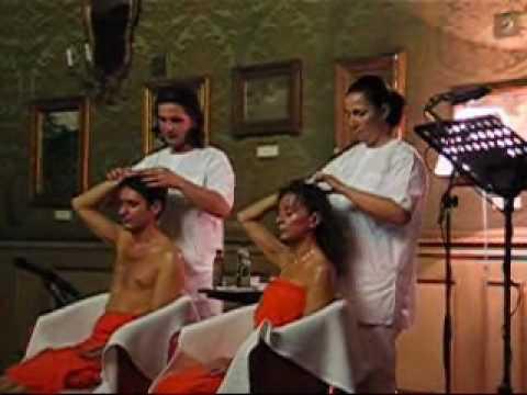 Ayurveda massaggio alla testa
