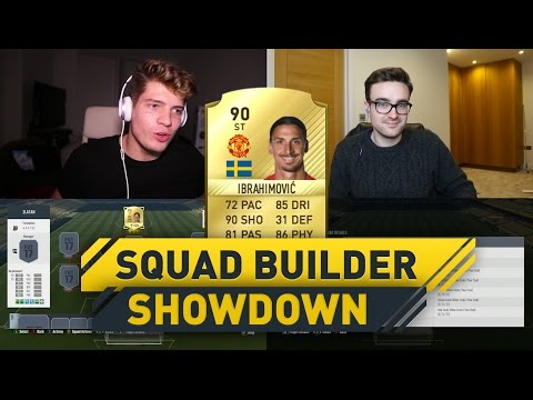 INSANE ZLATAN IBRAHIMOVIC SQUAD BUILDER SHOWDOWN!! (Fifa 17 Ultimate Team)