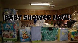 BABY SHOWER HAUL! TEEN MOM!