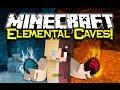 Minecraft ELEMENTAL CAVES MOD Spotlight! - Magical Caving! (Minecraft Mod Showcase)