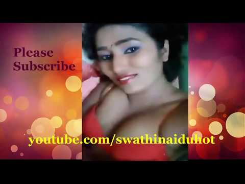 Swathi Naidu In Red Bra Playing With Pussy