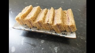 English Afternoon Tea Sandwiches Roast beef & horseradish mayonnaise finger Sandwich Recipes