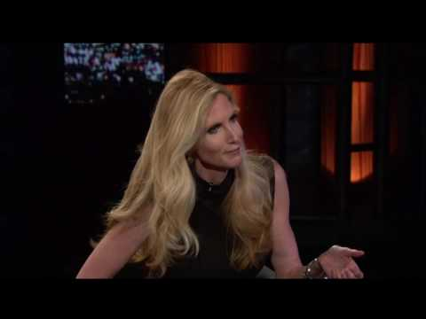 Ann Coulter In Trump We Trust Real Time with Bill Maher HBO
