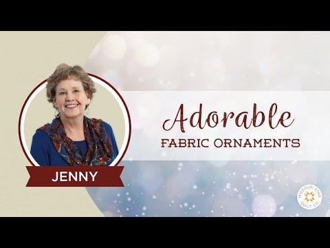 Adorable Fabric Ornaments