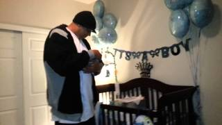 Wife surprises Husband w/ a Newborn BABY in a box!